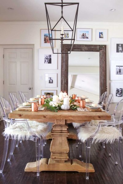 farmhouse dining room chairs Plastic