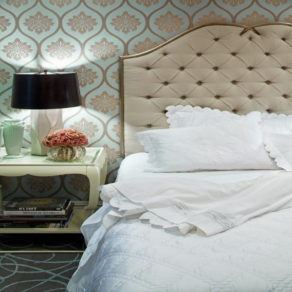 A Tufted Headboard To Add Comfy Vibe