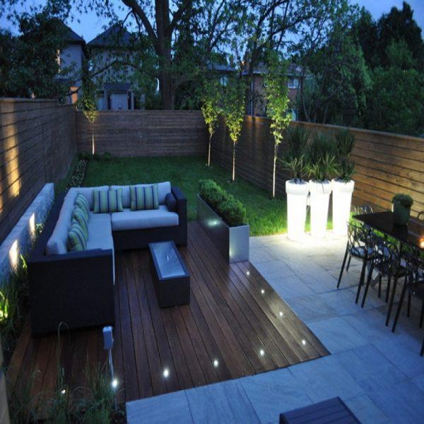 LED Deck Floor Lighting