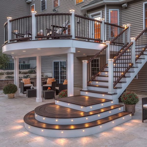 Step Deck ideas Lighting